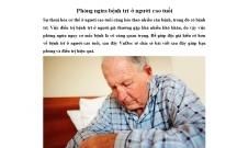 Cách Phòng ngừa bệnh trĩ ở người cao tuổi mà bạn nên biết