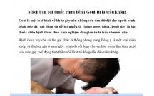 Bài thuốc chữa bệnh Gout từ lá trầu không