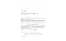 Bài tập xác suất thống kê: PHẦN TÍNH TOÁN CÁC THAM SỐ ĐẶC TRƯNG MẪU