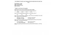 CÂU HỎI ĐỐ VUI NHÂN NGÀY THÀNH LẬP QUÂN ĐỘI NHÂN DÂN VIỆT NAM 22/12