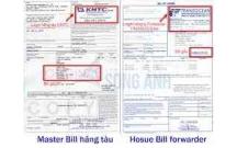 Master bill là gì trong XNK