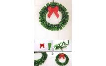 Hướng dẫn Cách làm vòng nguyệt quế đón Giáng sinh