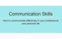 Đào tạo kỹ năng giao tiếp -  bản tiếng Anh