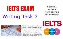 Những điều cần biết trong Writing task 2
