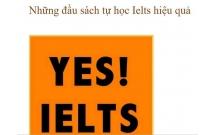 Những đầu sách tự học Ielts hiệu quả