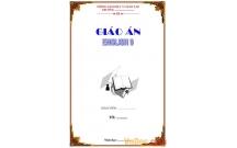 Thiết kế sẵn bìa cho thầy cô giáo dạy ngoại ngữ