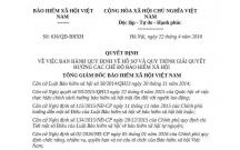 Quyết định 636/QĐ-BHXH