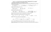 Hóa học 11:  CÁC BÀI TẬP CHUYÊN ĐỀ CACBON VÀ HỢP CHẤT CỦA CACBON