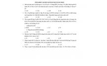 Tài liệu ôn tập môn Hóa học: TỔNG HỢP CÁC BÀI TẬP BẢO TOÀN ELECTRON