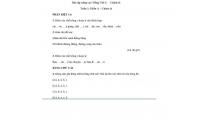 Bài tập nâng cao Tiếng Việt lớp 2:  Chính tả