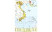 30 câu hỏi trắc nghiệm dựa vào ATLAT địa lý hành chính Việt Nam trọng tâm có đáp án.