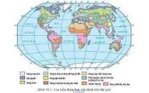Đề cương ôn tập học kì 1 môn Địa lý lớp 10