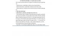 LÝ THUYẾT SINH HỌC 12: NGUỒN GỐC SỰ SỐNG