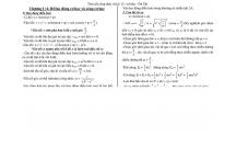 Tài liệu ôn tập môn Vật lý; Chuyên để Dao động cơ học và sóng cơ học