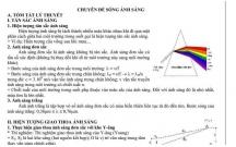 Lý thuyết và bài tập Vật lý 12; Chuyên đề Sóng ánh sáng