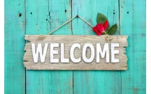 Phân biệt Welcome, Welcomed