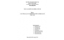 Tham khảo bài tiểu luận chính sách tiền tệ nhằm kiểm soát lạm phát