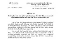 Thông tư 103/2014/TT-BTC quy định mới về thuế nhà thầu