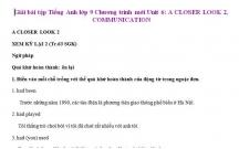 Hướng dẫn GBT Tiếng Anh lớp 9 bài số 6.3 trang 63