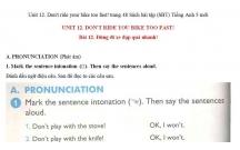 Hướng dẫn GBT trong sách bài tập tiếng Anh lớp 5 bài số 12