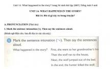 Hướng dẫn GBT trong sách bài tập tiếng Anh lớp 5 bài số 14