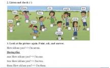 Hướng dẫn GBT Tiếng Anh lớp 2 bài mở đầu - L3