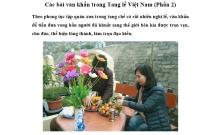Các bài văn khấn trong Tang lễ Việt Nam